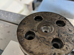 Milled Hex Bolt Extraction