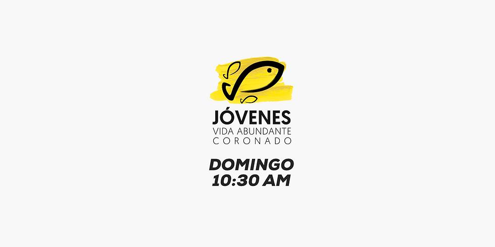 JOVENES Domingo 10:30 a.m.