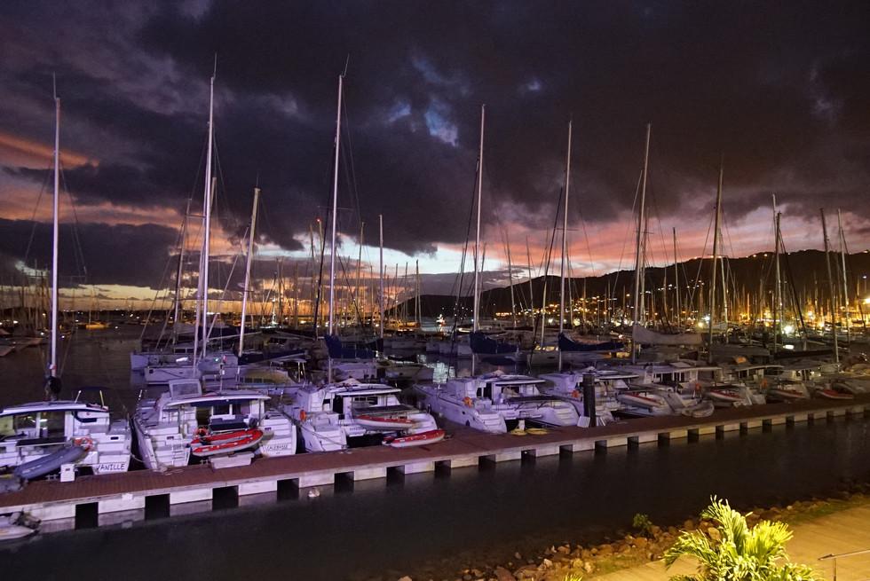 'Le Marin' kikötő, Martinique - vízes modulok