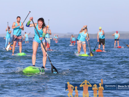 Reap the benefits of stand-up paddle boarding
