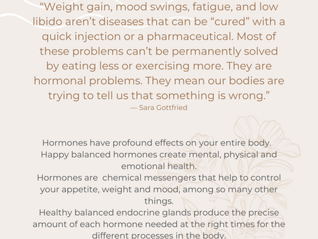Hormone Health: Steps to take to balance your hormones