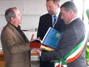 Ventennale gemellaggio tra Vicenza e Pforzheim il sindaco italosiculo Variati incontra Gert Hager
