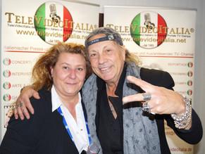 Ricky Portera, l'Icona della musicale internazionale pop rock, sbarca in Germania