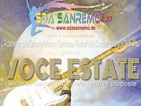 Prosegue in Europa il tour Voce Estate, il concorso canoro nazionale dalla parte dei nuovi talenti