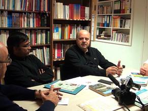 Per il Cammino di Santiago Padre Fabio Pallotta incontra la comunità Cattolica Italiana di Pforzheim