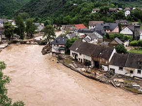 Alluvioni in Germania definite spettrali da Angela Merkel