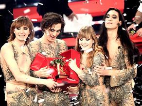 Zitti e buoni, i Maneskin vincono il Festival di Sanremo 2021