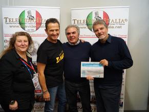 Sold out a Fellbach, Stoccarda, per Enzo Salvi e Franco Neri