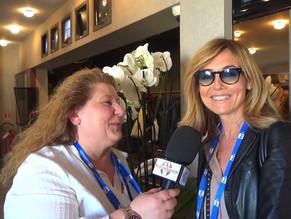 Elisabetta Ferracini l'affascinante celebrità italiana ai nostri microfoni