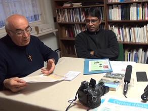 Buon 2018 da parte dei padri guanelliani don Arcangelo Biondo e padre Rocky della Missione Cattolica