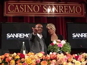 Maria De Filippi e Carlo Conti al 67esima edizione del Festival di Sanremo 2017. Il record di ascolt