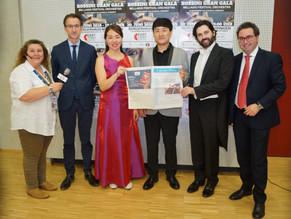 la Bellagio Festival Orchestra alla prima del Gran Galà di Rossini a Stoccarda