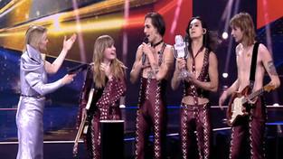 I Maneskin vincono anche l'Eurovision Song Contest 2021