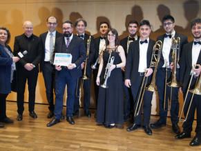 l'Apulia Piano Brass Ensemble ospite a Stoccarda, per il Concerto del Nuovo Anno