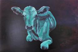 Lehmä violetti järkkäri