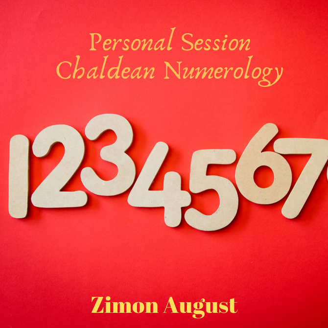 Chaldean Numerology Sessions Internationally now opened!