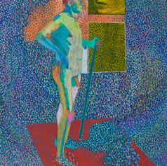 Fine Art Gicleé print in   A5: £25  A4: £35  A3: £50  Original medium: Oil, Acrylic and colour pencil on Paper.