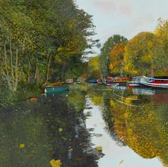 Regent's Canal, Victoria Park.