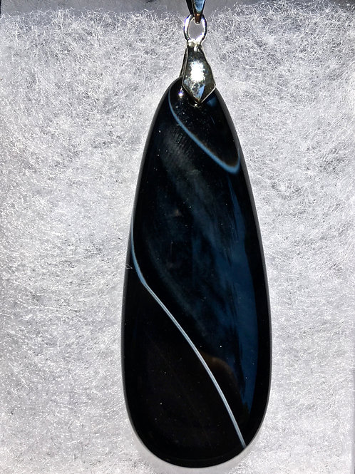 BLACK SARDONYX (ellipse)