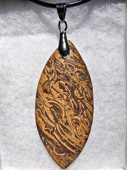 ELEPHANT SKIN JASPER (Calligraphy Stone)
