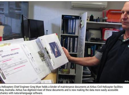 """1Ansah Featured in Aerospace Magazine - """"Repair Manuals Get Smart"""""""