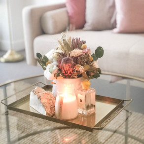 Coffee Table Styling in collaboration with Libra.Bloems