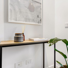 Corner Styling With Plants: 315LaTrobe Project   Interiored Melbourne