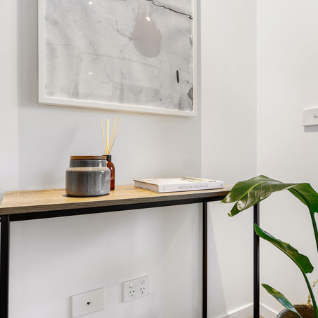 Corner Styling With Plants: 315LaTrobe Project | Interiored Melbourne