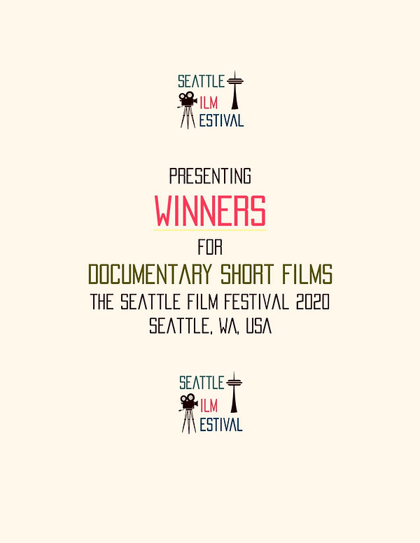 SFF 2020 Documentary Short Film WINNERS