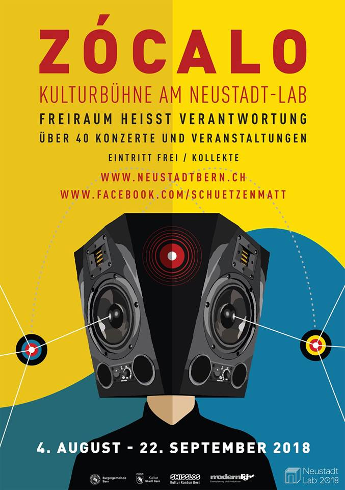 Zócalo Bühne NeuStadt-lab 2018