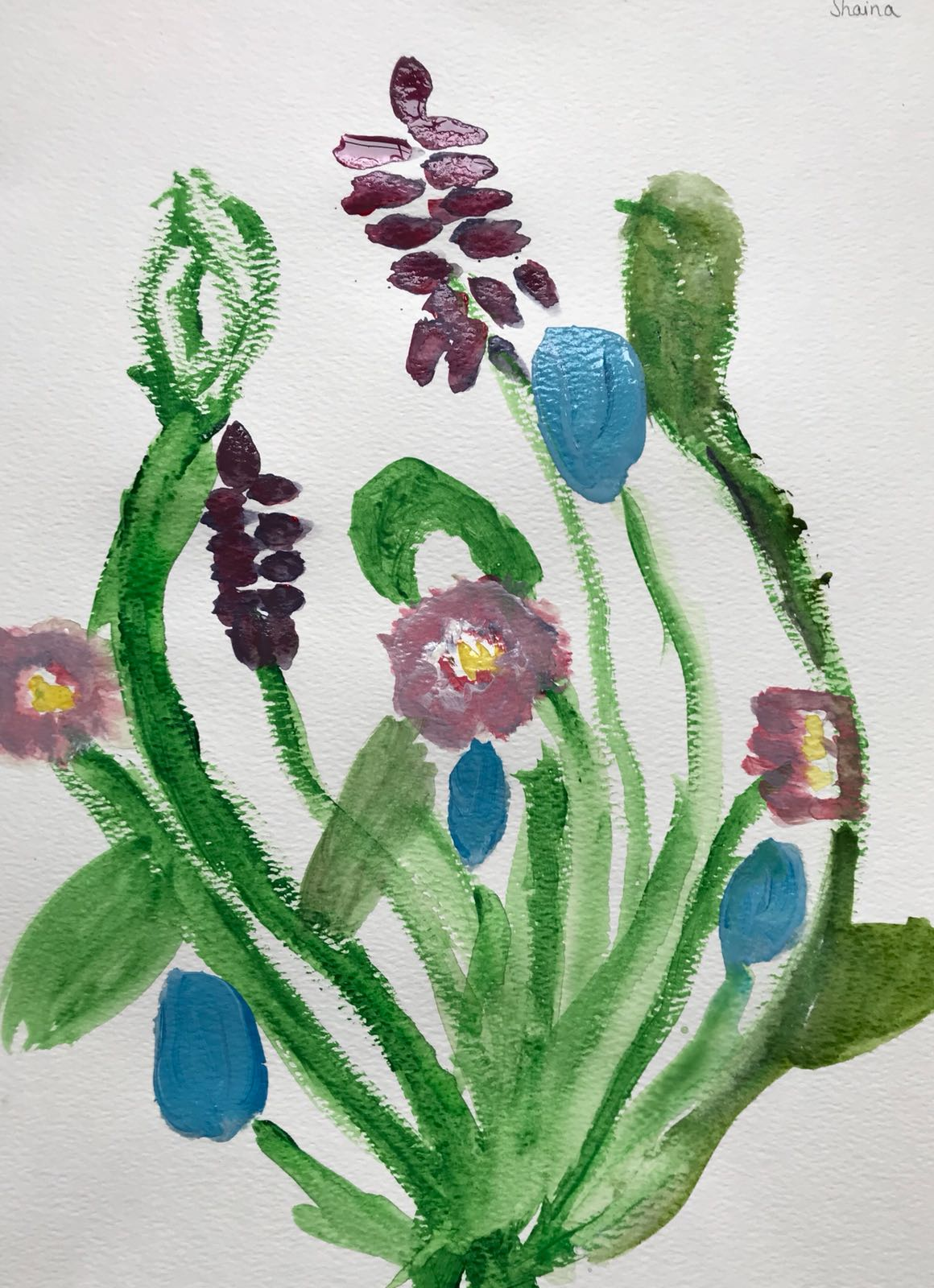 Flowers Watercolour 2