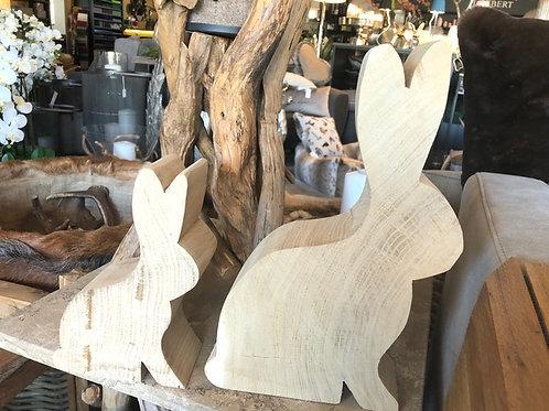 Holz Hase