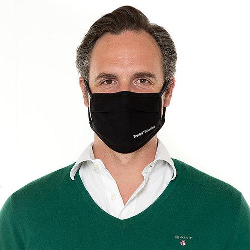 Mund-Nasen-Maske Trevira® Bioactive Schwarz