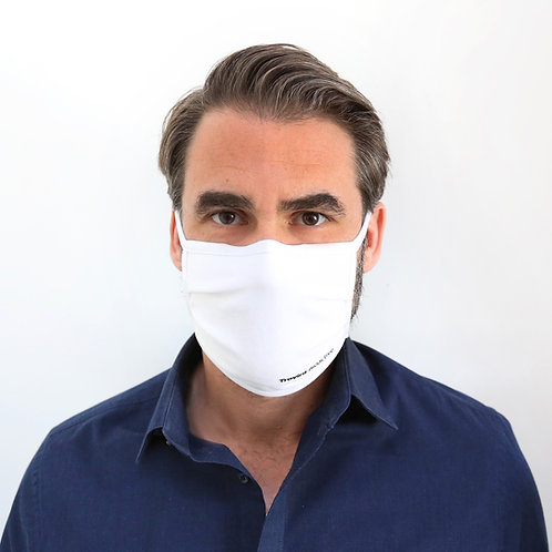 Mund-Nasen-Maske Trevira® Bioactive Weiß