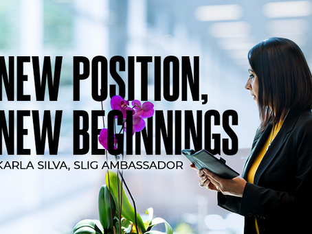 PRESS RELEASE: New Position, New Beginnings