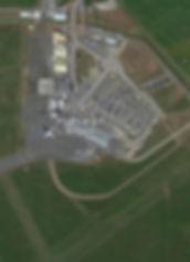 Invercargill Airport Google map view