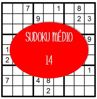 Sudoku Médio - 14