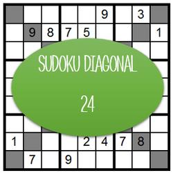 Sudoku Diagonal - 24