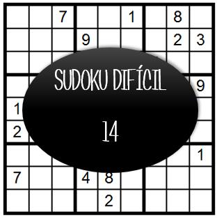 Sudoku Difícil - 14