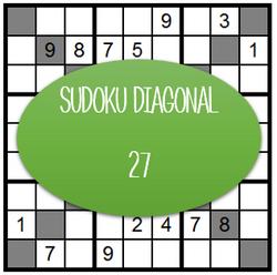 Sudoku Diagonal - 27