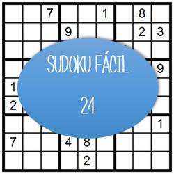 Sudoku Fácil - 24