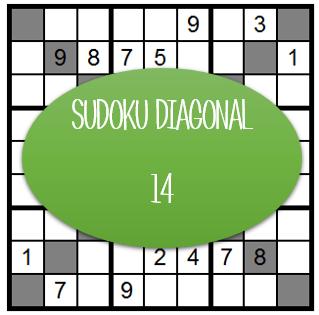 Sudoku Diagonal - 14