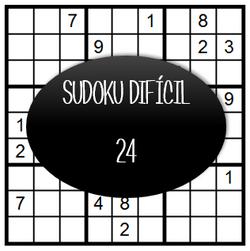 Sudoku Difícil - 24