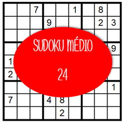 Sudoku Médio - 24