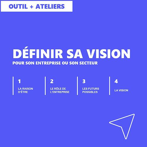Définir sa vision - Outil + Ateliers