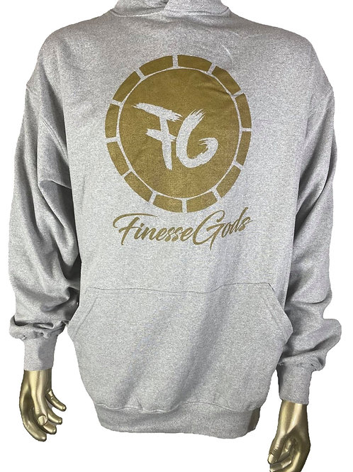 Gray FG Coin Hoodie