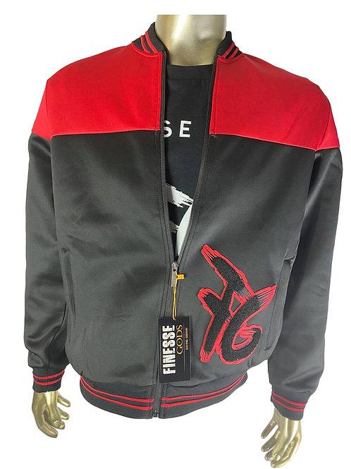 Red & Black FG Track Jacket