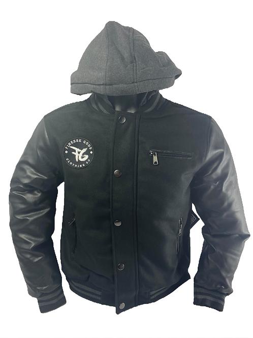 Youth Black FG Jacket