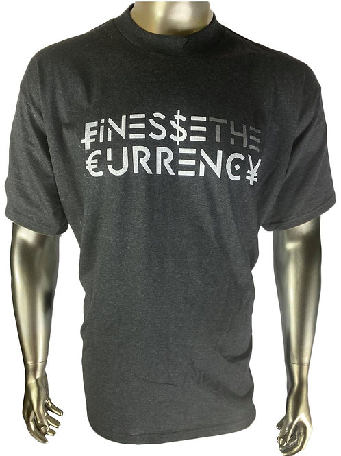 Charcoal Finesse The Currency Tshirt
