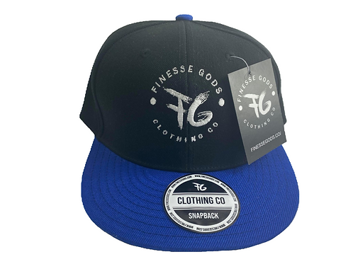 Blue & Black Classic FG Snapback